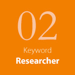 Keyword 02 Researcher